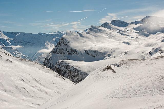 Val d'Isere slopes photo credit Loic Brohard