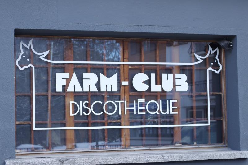 Farm Club in Verbier