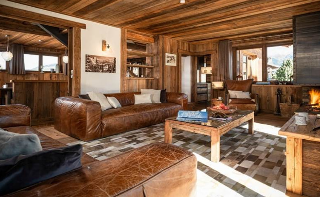 chalet Loup Blanc in Courchevel